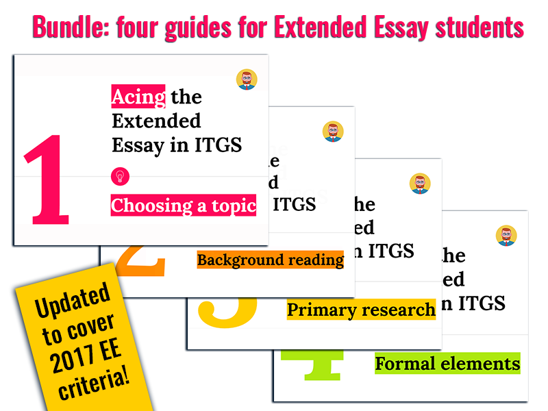 Acing the Extended Essay in ITGS