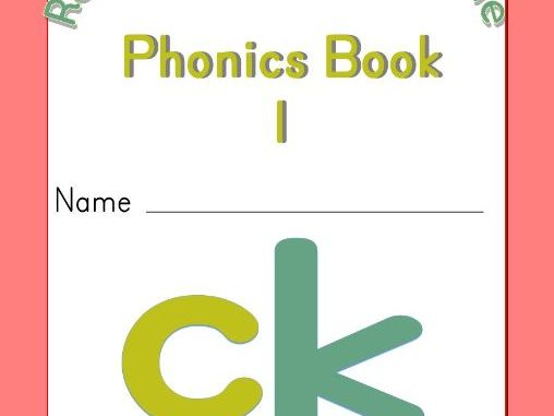 ck phonics workbook
