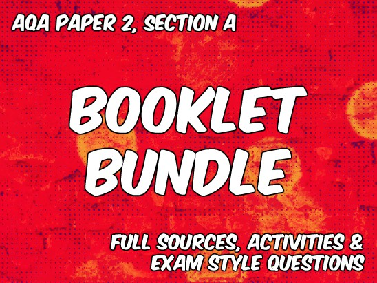 Bundle of Booklets for AQA Paper 2 English Language