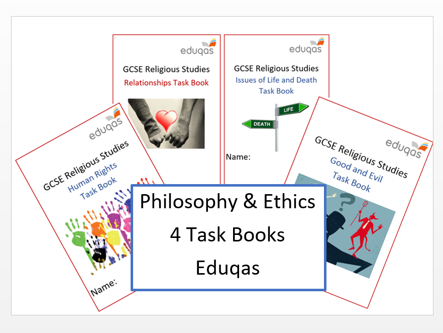 Eduqas Philosophy and Ethics Task Books
