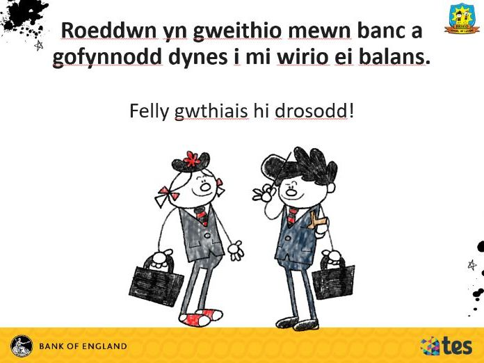Lesson 1 Money and me - All about money (Welsh curriculum & language)