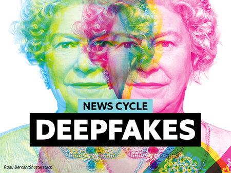 Home learning: deepfake technology