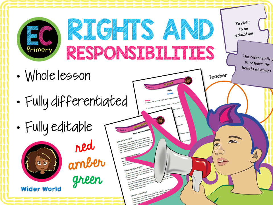 Rights and Responsibilities KS2