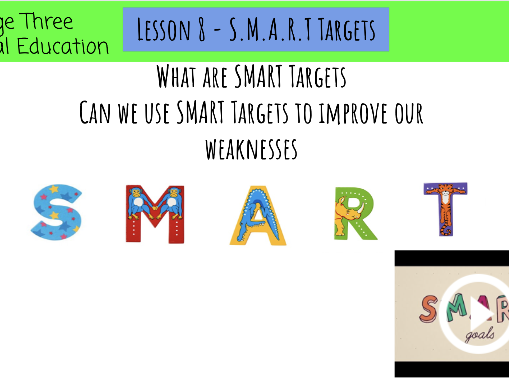 PE online learning - S.M.A.R.T Targets