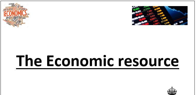 A level Economics: Introduction