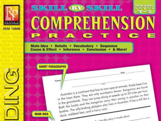 Skill-By-Skill Comprehension Practice (Reading Level 3-5)