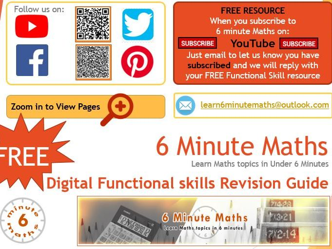 Functional Maths resource guide FREE