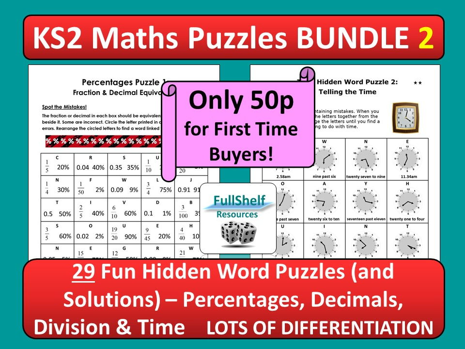 Maths Puzzles / Activities 2