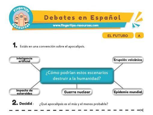 Futuro - Debates in Spanish