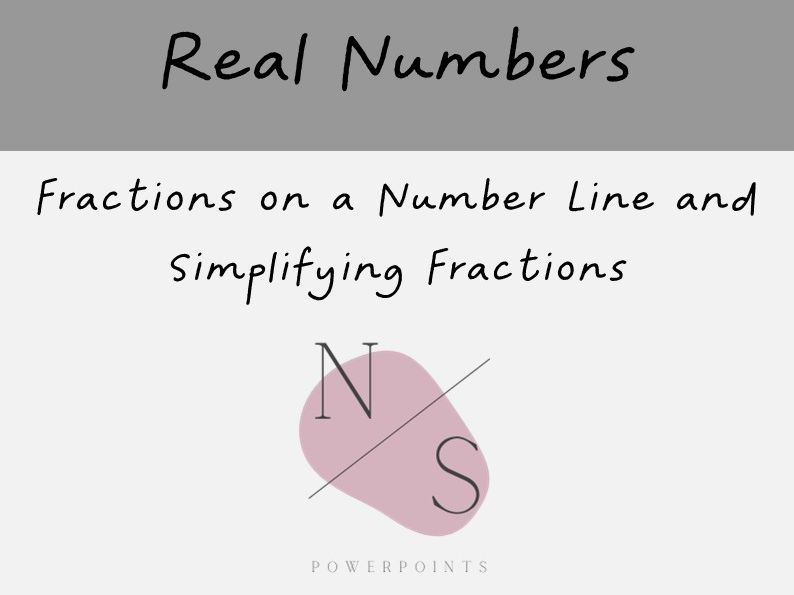 Fractions on a Number Line and Simplifying Fractions Lesson Presentation