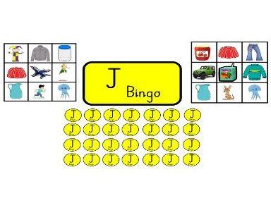 Bingo for J sound
