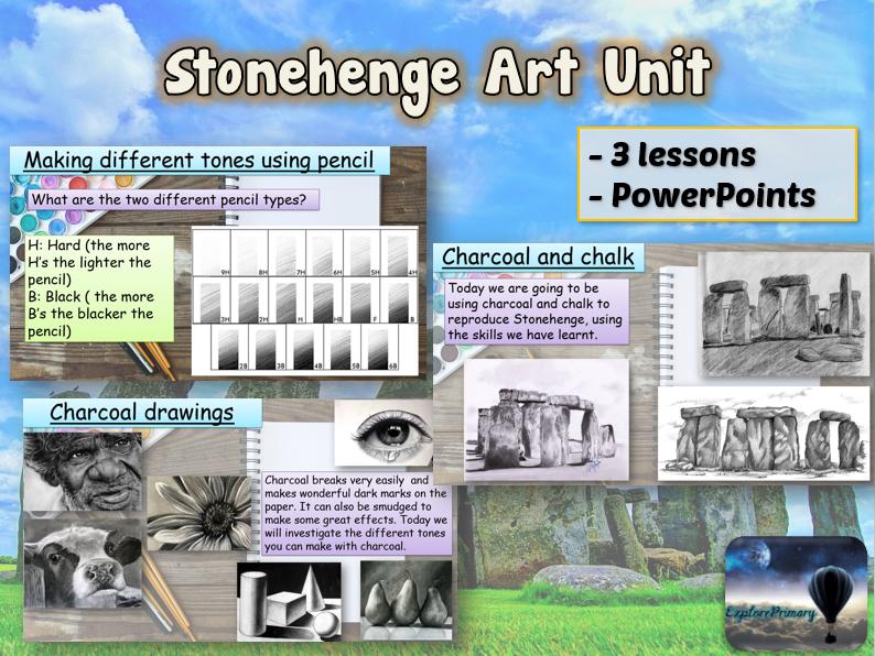 STONEHENGE Art Unit - 3 Lessons