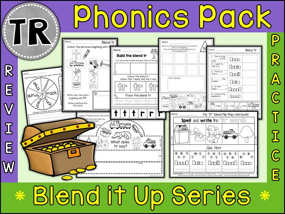 Phonics: Phonics Blend TR