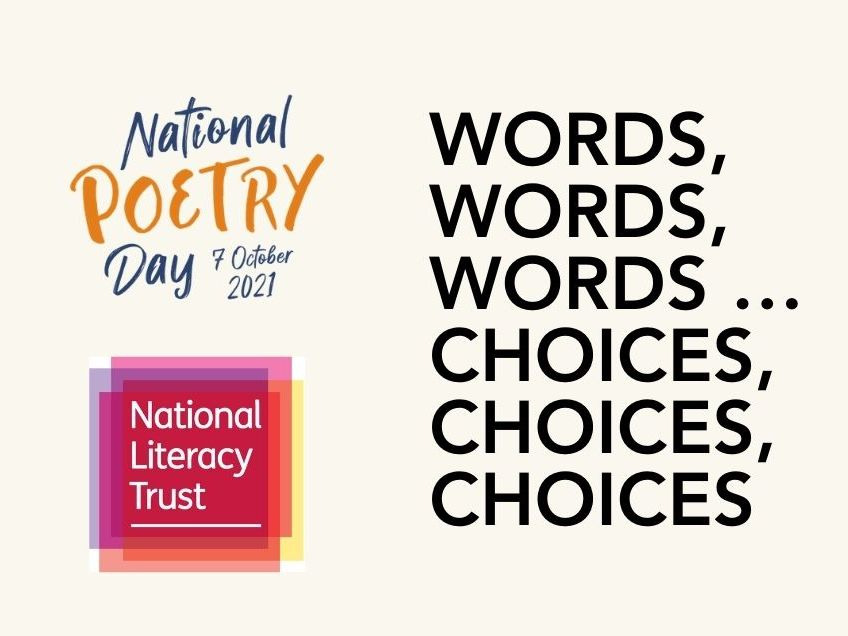 National Poetry Day 2021 National Literary Trust KS 2 Resource
