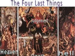 (6.5) 'The Four Last Things' - 25 slides to aid pages 150 & 151.