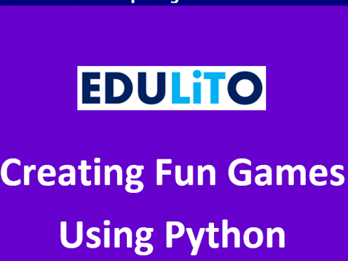 KS2 & KS3 Creating Fun Games using Python