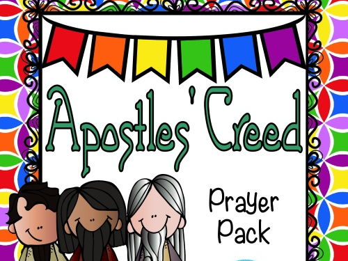 Apostles' Creed Prayer Pack