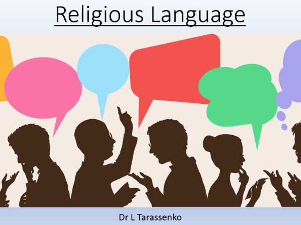 A-Level Religious Studies  OCR Revision Day on Religious Language