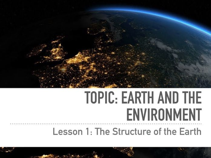 Earth Structure: The Rock Cycle Bundle - KS3