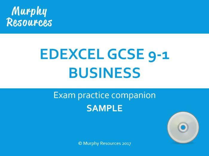 GCSE 9-1 Exam Companion (Edexcel) Sample