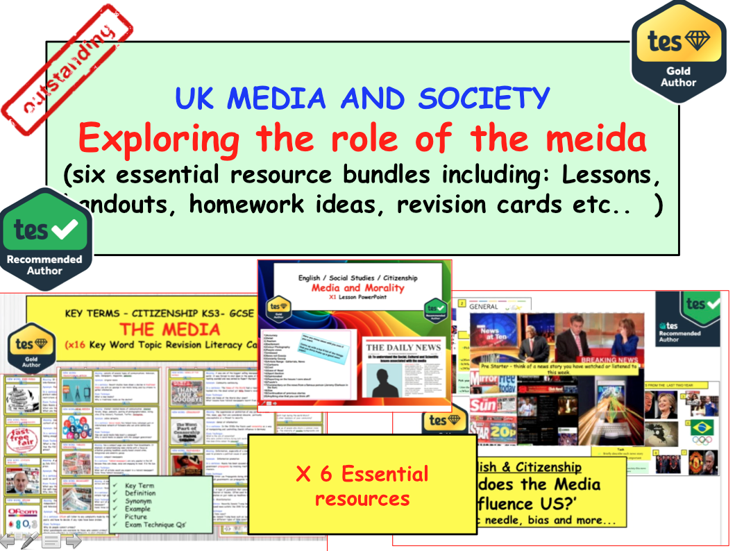 Exploring the Media - Freedom of the press / morality,  ownership and influence