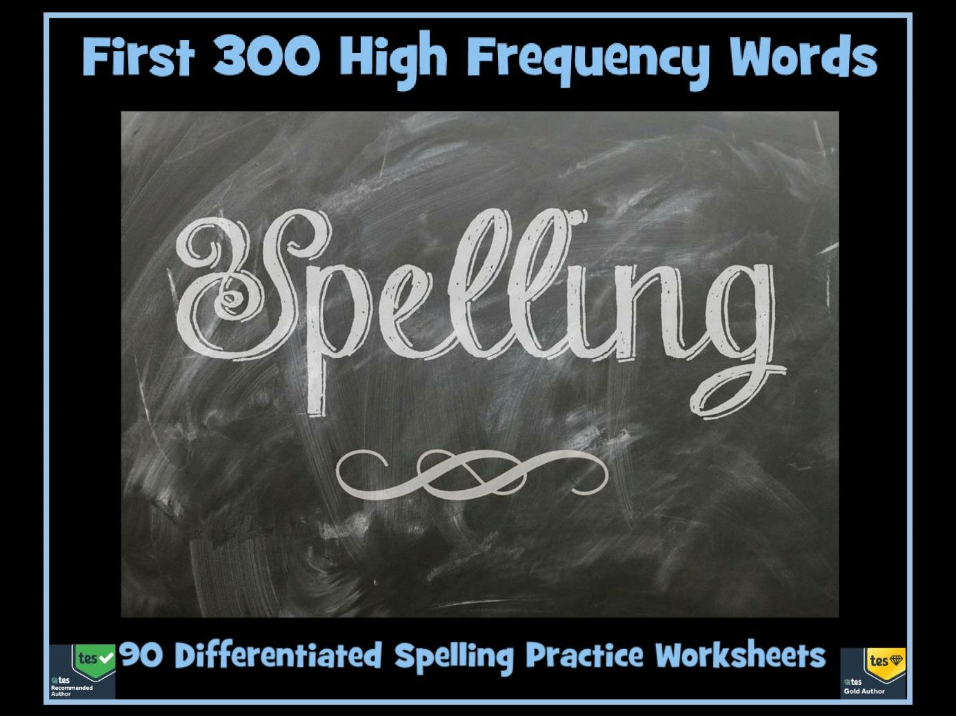 100 High Frequency Words: Set 3 Differentiated Spelling Practice ...
