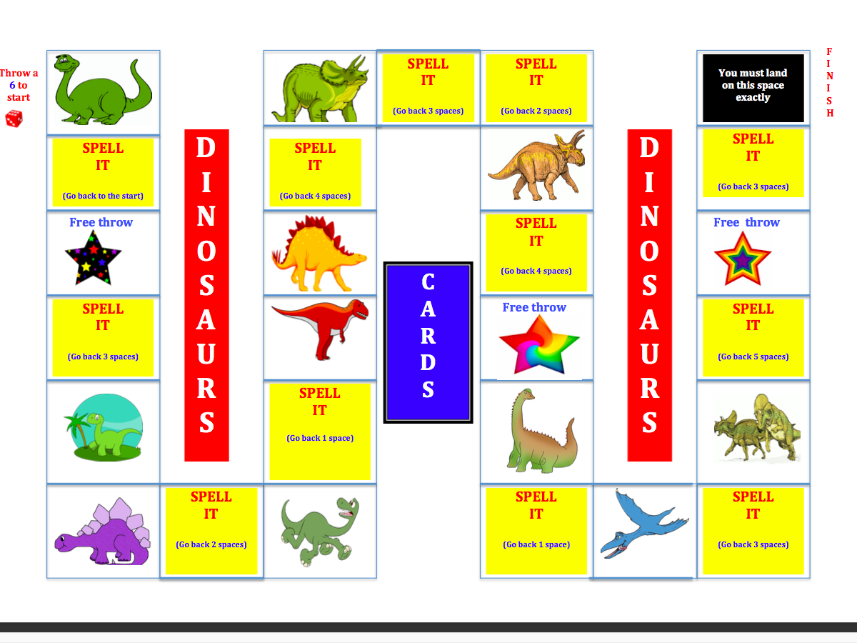 KS1 and KS2 Themes Bundle - Spelling  Board Games