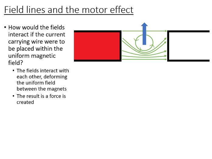 iGCSE Physics - The Motor Effect (PowerPoint and questions)