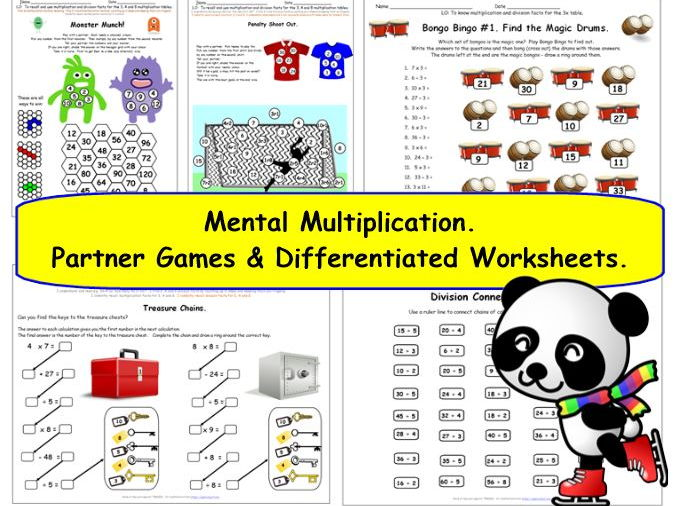 The mathematical wonderland teaching resources tes for 10x table worksheets