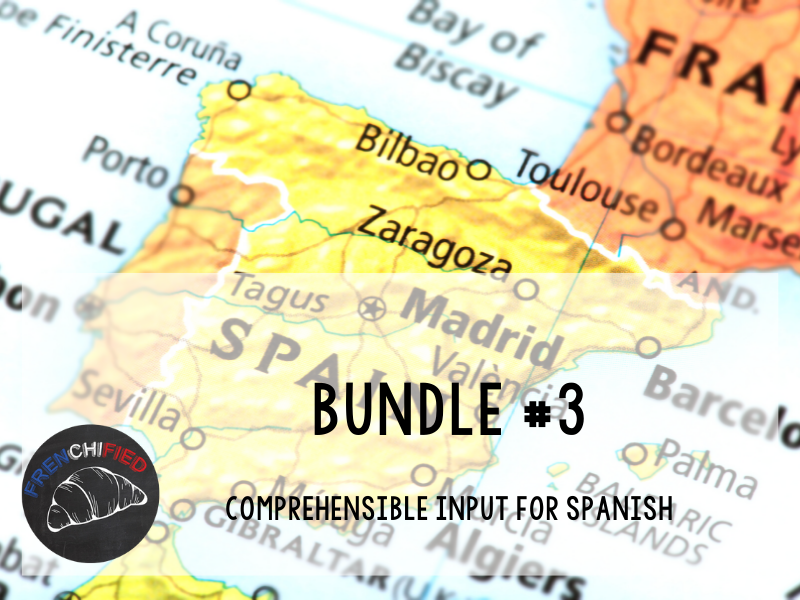 CI Video for Spanish learners - Bundle #3