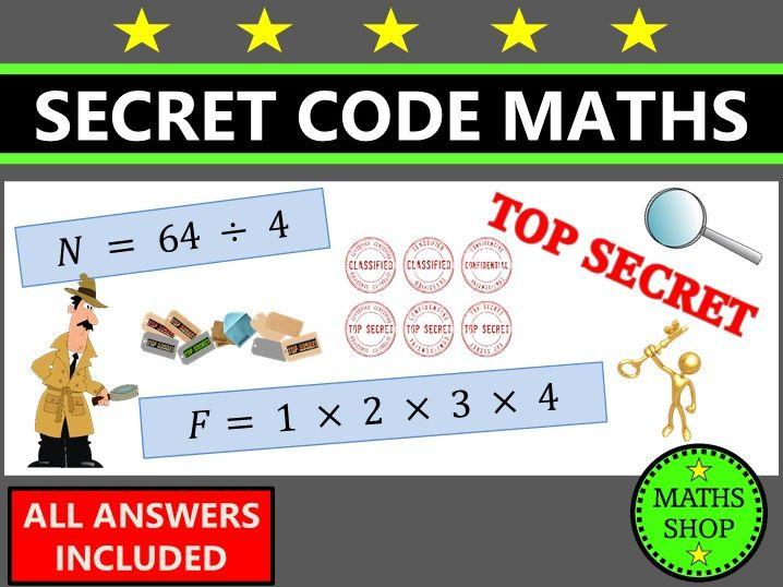 Secret Code Maths