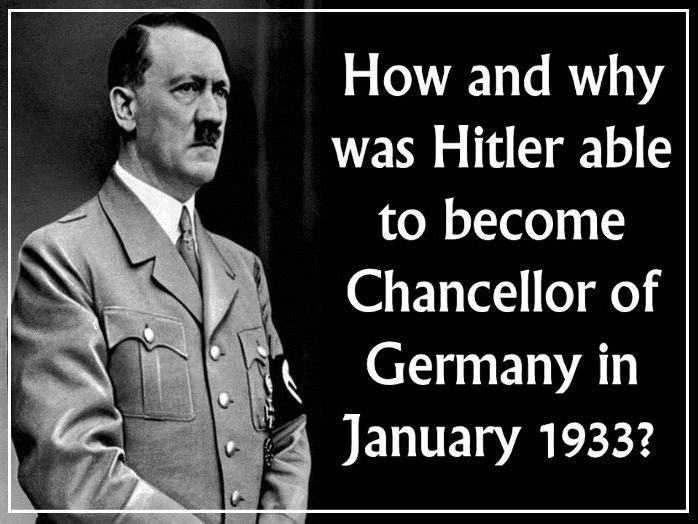 How did Hitler become Chancellor in January 1933?