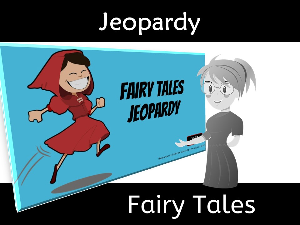 Fairy Tale Jeopardy for Class Relationships