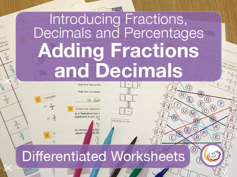Fraction and Decimal Sums