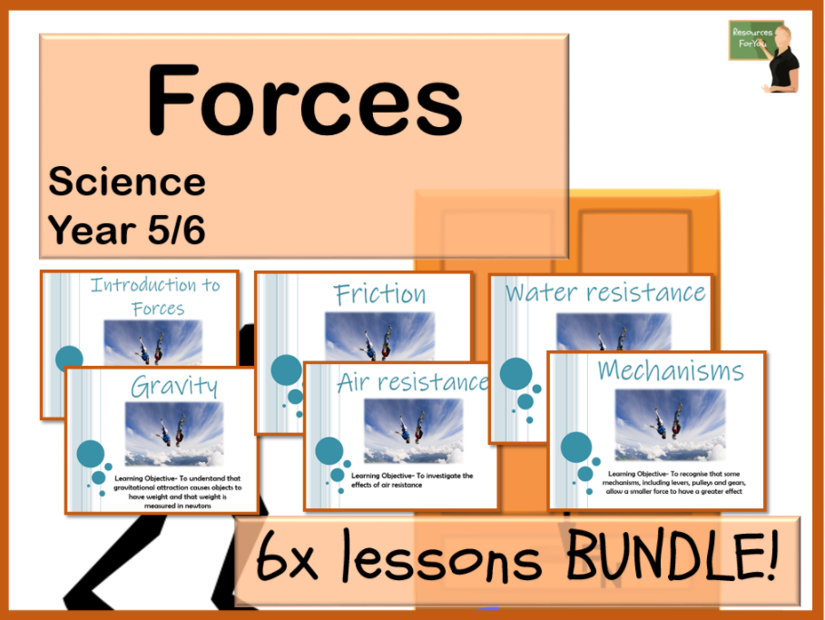 Science- Forces- Year 5/6 BUNDLE!