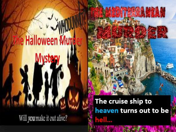 The Halloween Murder Mystery and The Mediterranean Murder (with free starters)