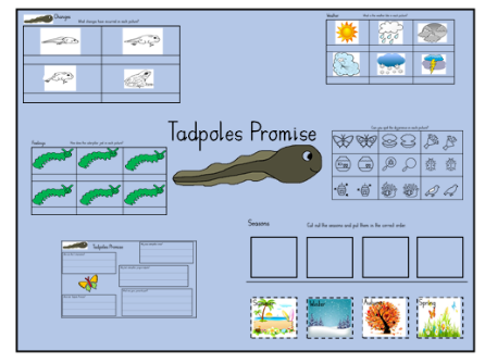 The Tadpoles Promise Resources