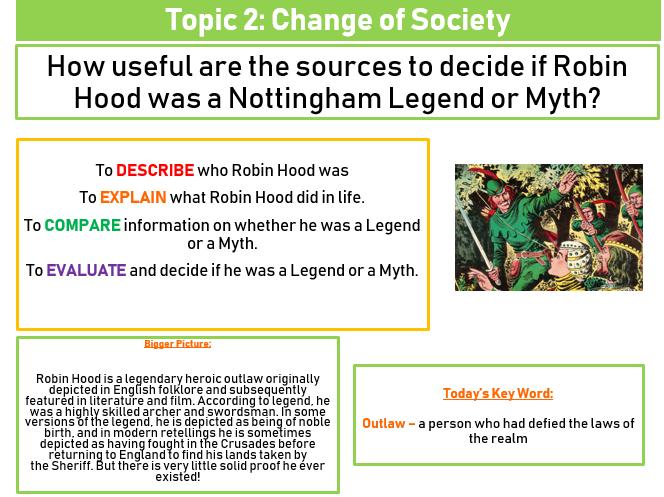 Robin Hood - Legend or Myth?