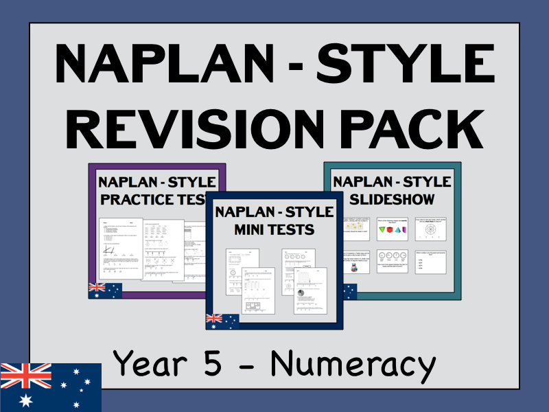 NAPLAN Revision - Year 5 - Numeracy