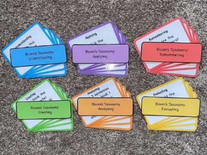 Bloom's Taxonomy Reading Questions