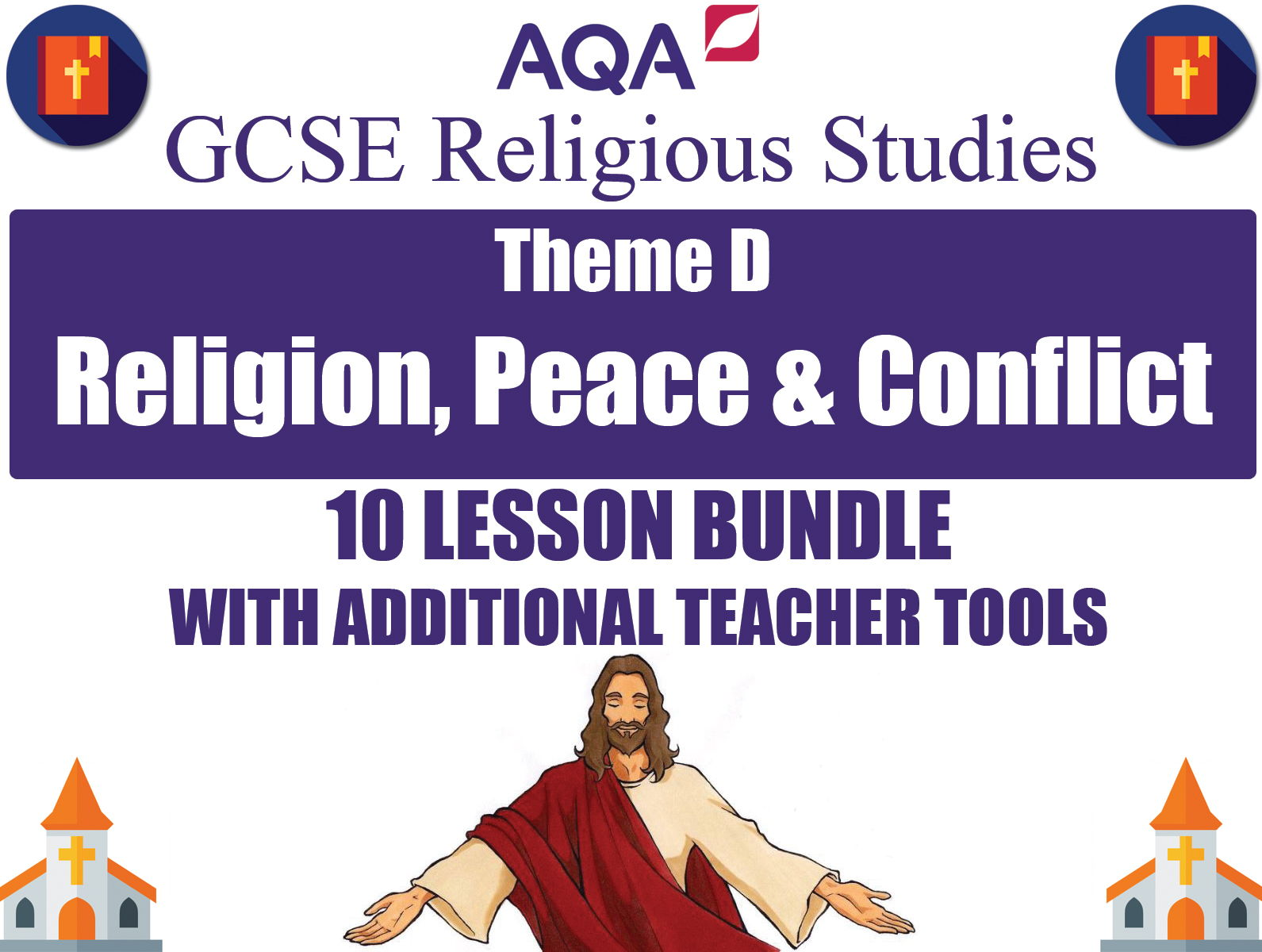 Religion, Peace & Conflict (10 Lesson Unit) (AQA GCSE Religious Studies)