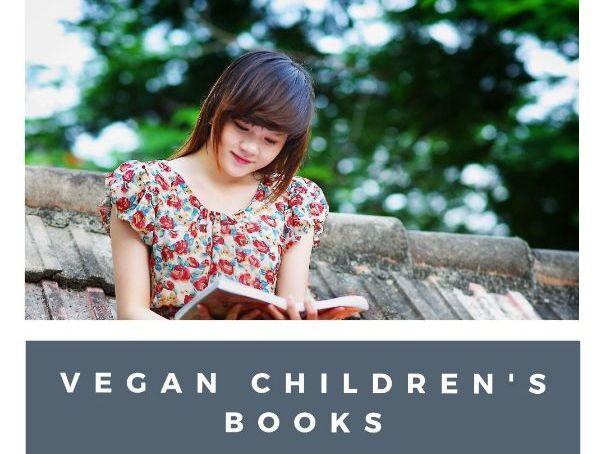 50+ Vegan children's books list
