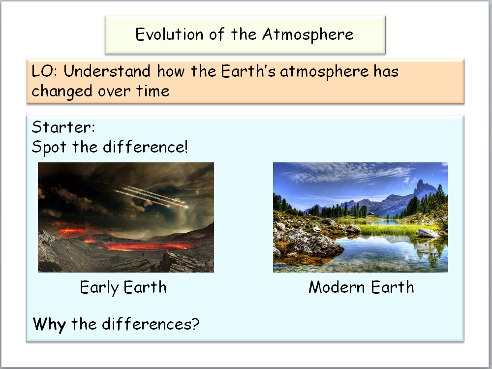New AQA GCSE Chemistry - Atmospheric Chemistry
