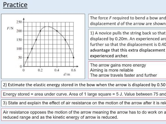 A level Physics (11.4) More about stress and strain (Materials)