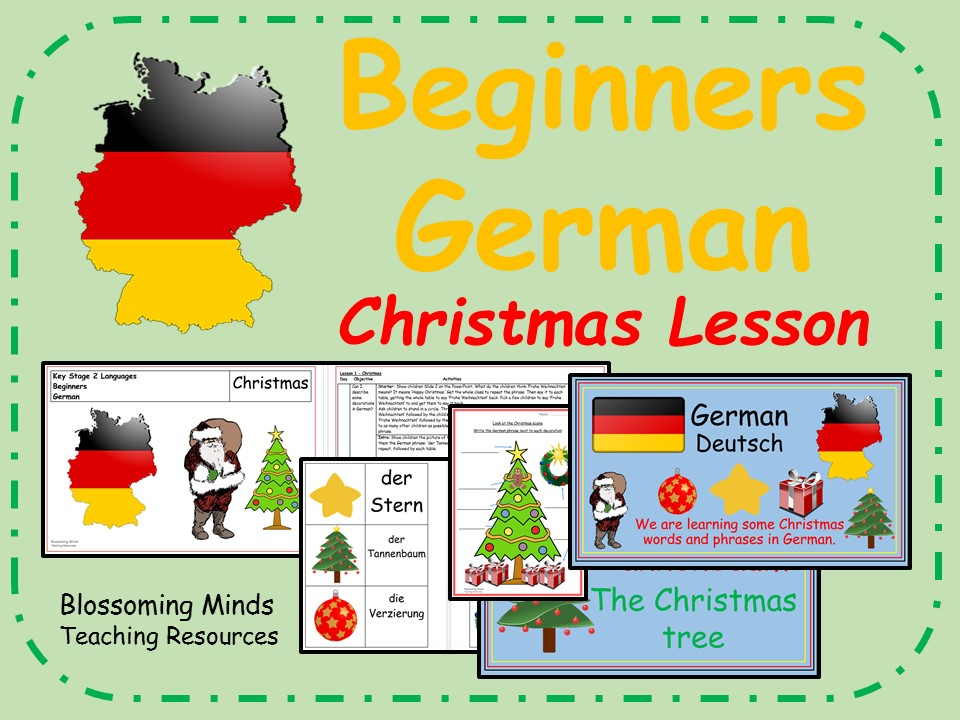 German Plan and Resources - KS2 - Christmas - Weihnachten