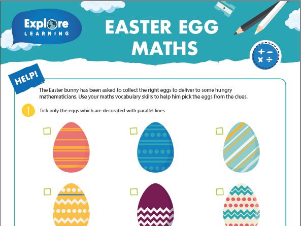 Free_Easter egg maths_Activity sheet