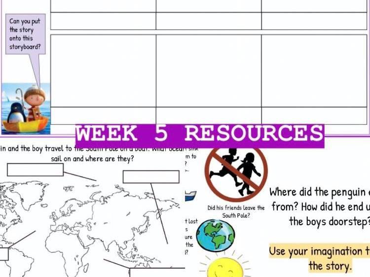Back To School Resources (Week 5)