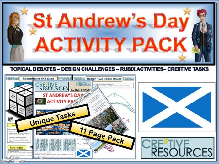 St Andrew's Day Activity Pack