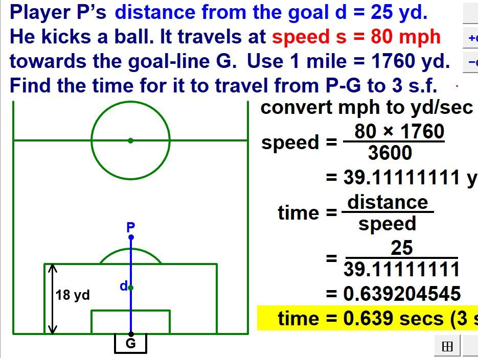 Solve Problems Using Speed