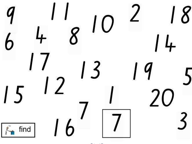 Numeration 1 - 20: Activities to develop understanding of numbers from 1 to 20